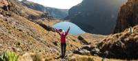 Trekking on Mount Kenya | Lauren Bullen