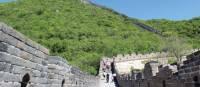 Blue skies as we trek the Great Wall | Alana Johnstone