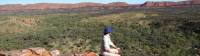 Ridge views on the Larapinta Trail |  <i>Latonia Crockett</i>