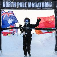 Heather Hawkins North Pole Marathon