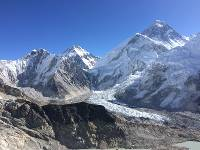 Looking out over Everest Base Camp from Kala Pattar |  <i>Heather Hawkins</i>