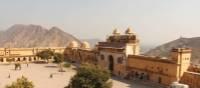 Courtyard of Amber Fort near Jaipur. | Ayla Rowe