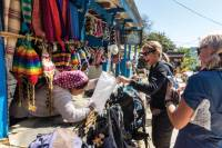 Interacting with a local shopkeeper along the Annapurna trail |  <i>Joe Kennedy</i>