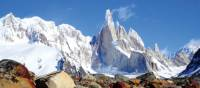 Beautiful views of Cerro Torre peak in Patagonia | Sue Badyari