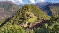 Panoramic view of the 'lost' Inca ruins of Choquequirao |  <i>Yuri Zvezdny</i>