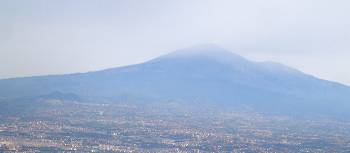 Aerial view of Catania and Mt Etna, Sicily, Italy | Kate Baker